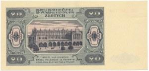 20 złotych 1948 - EE -