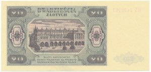 20 złotych 1948 - HS -