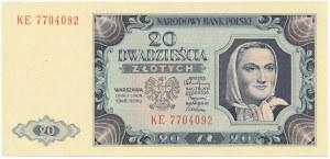 20 złotych 1948 - KE -
