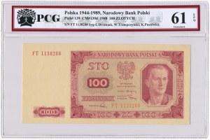 100 złotych 1948 - FT - PCG 61 EPQ
