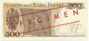 500 złotych 1979 WZÓR AZ 0000000 No.0413