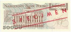 50.000 złotych 1993 WZÓR A 0000000 No.0729