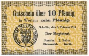 Solec Kujawski, 10 fenigów 1919