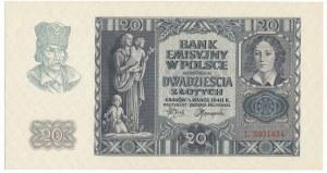 20 złotych 1940 - L -