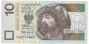 10 złotych 1994 - YB -