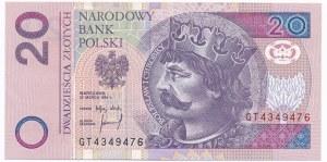 20 złotych 1994 - GT -