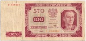100 złotych 1948 - F -