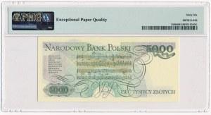 5.000 złotych 1986 - AY - PMG 66 EPQ - pierwsza seria rocznika