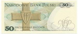 50 złotych 1975 - T - rzadka seria