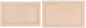 Morąg, 5 i 10 marek 1918 (2szt.)
