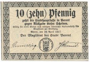 Kościerzyna, 10 fenigów 1917