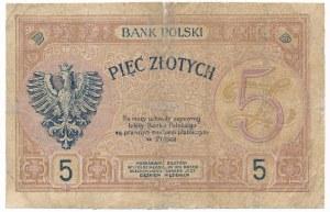 5 złotych 1919 S.74.A