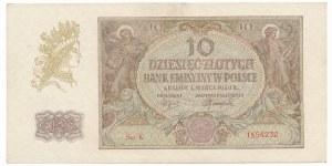 10 złotych 1940 - K - rzadka seria