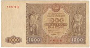 1.000 złotych 1946 - P -