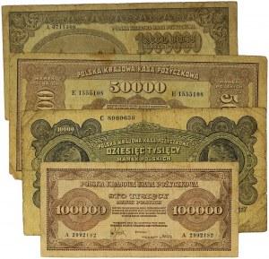 Zestaw, Marki inflacyjne (4szt.)