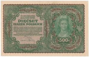 500 marek 1919 - II Serja R