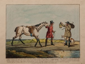 Henry Alken (1785-1851), Pytanie o drogę, po 1822