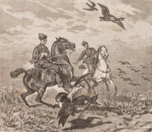 Juliusz Kossak (1824-1899) - Autor Obrazu, Polowanie z sokołem (Sokolnicy), ok. 1880