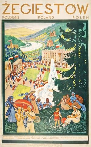 Henryk UZIEMBŁO (1879 - 1949), ŻEGIESTÓW, 1938