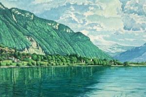 Andrzej A. SADOWSKI, Widok z zamku Chillon, 1998