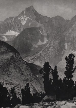 Ansel ADAMS (1902 - 1984), Mount Clarence King, 1924