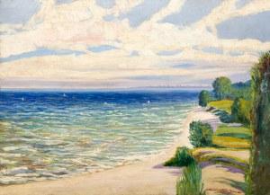 Stefan SONNEWEND (1885 - 1939), Pejzaż z Gdyni, 1924