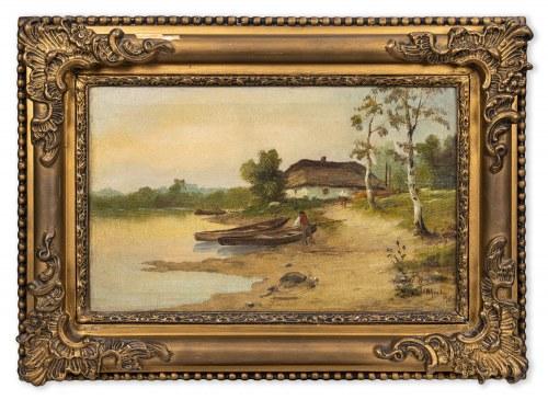 Grudziński Władysław, Chata nad rozlewiskiem, 1913