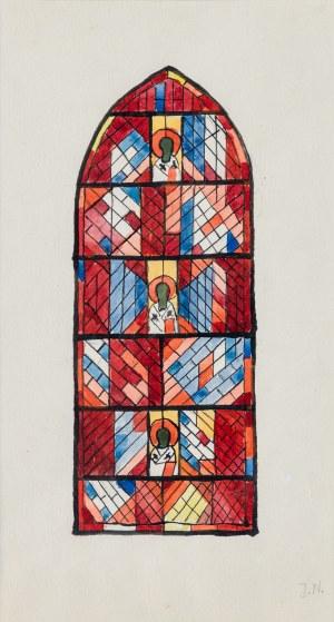 Nowosielski Jerzy, Projekt witrażu, 1989