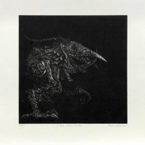 Bożek Kacper , Bożek z mezzotinty, 2000