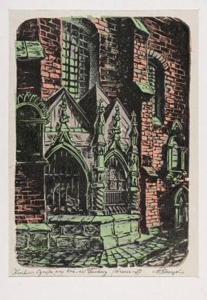 Raczyński Stanisław, Kraków. Ogrojec przy kościele św. Barbary, lata 50. XX w.