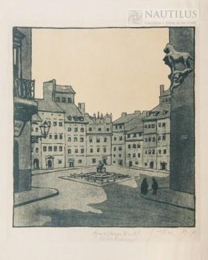 Tom Józef, Warszawa. Rynek Starego Miasta, 1917