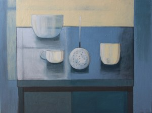 Iwona Birenbaum-Sacharz (ur. 1983), Martwa natura niebieska, 2020