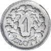 RR-, PRÓBA,1 złoty 1928 nikiel, wieniec z liści dębowych, bez napisu, nakład 35 szt