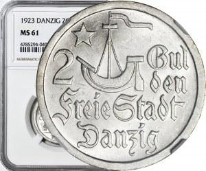WMG, 2 guldeny 1923, mennicze