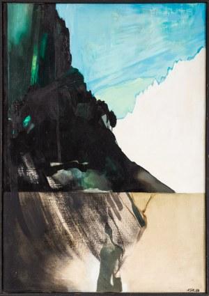 Aleksandra Stroczyńska, Le paysage au poirier, 1984