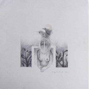 Anna Dybowska (ur. 1983), W lustrze, 2020