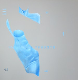 Daniel Białowąs (ur. 1975), Room 310 (Blue Queen), 2017
