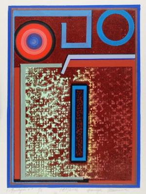 Henryk PŁÓCIENNIK (ur. 1933), Monotypia +, 2012