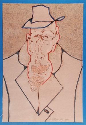 Henryk PŁÓCIENNIK (ur. 1933), Portret, 1998