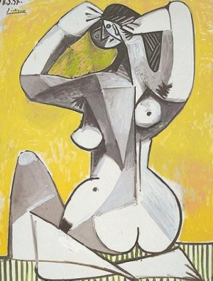 "Pablo Picasso - ""Nu accroupie"""