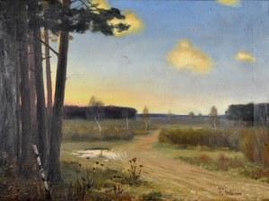 Witold Florkiewicz (1874-1940), Pejzaż, 1902