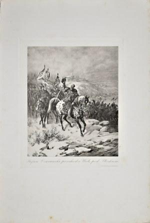 Juliusz Kossak (1824-1899), Stefan Czarniecki przechodzi Wisłę pod Płockiem
