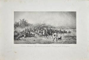 Juliusz Kossak (1824-1899), Janusz Skumin Tyszkiewicz przechodzi Drwięcę pod Turborgiem
