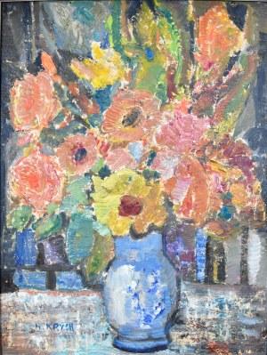 Henryk Krych (1905-1980), Kwiaty w wazonie