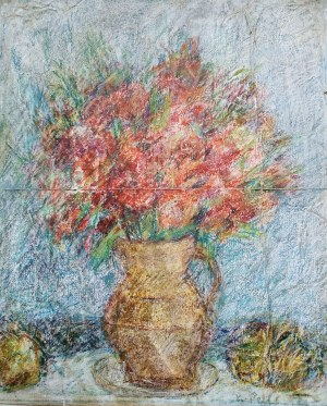 Krystyna Pelletier (1914-2007), Kwiaty w dzbanie