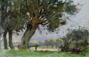Władysław Serafin (1905-1988), Drzewa przydrożne, 1974