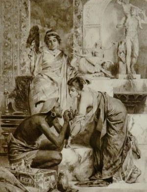Henryk Siemiradzki (1843-1902), Sprzedaż amuletów