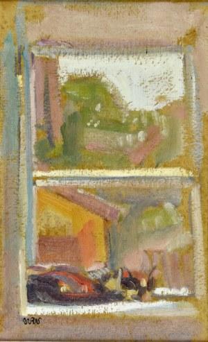 Wojciech Weiss (1875-1950), Widok z okna, 1906