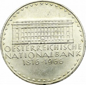 Austria, 50 schilling 1966 - 150 years of the National Bank