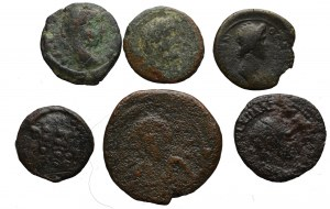 Lot of 6 ancient coins